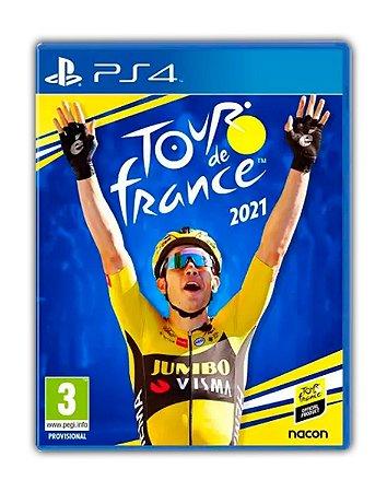 Tour de France 21 2021 PS4 Mídia Digital