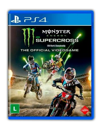 Monster Energy Supercross - The Official Videogame PS4 Mídia Digital