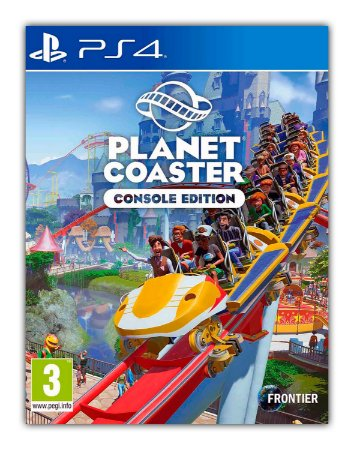 Planet Coaster Edição de Console PS4 - PS5 Mídia Digital