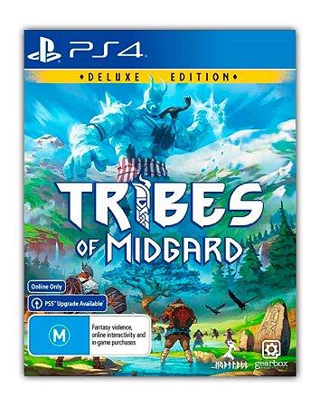 Tribes of Midgard Digital Deluxe PS4 PS5 Mídia Digital