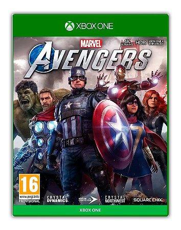 Marvel's Avengers Xbox One Vingadores - Mídia Digital