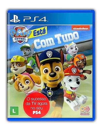 A Patrulha Canina 'tá com tudo! PS4 Mídia Digital