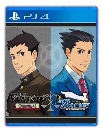 Ace Attorney Turnabout Collection Ps4 Mídia Digital