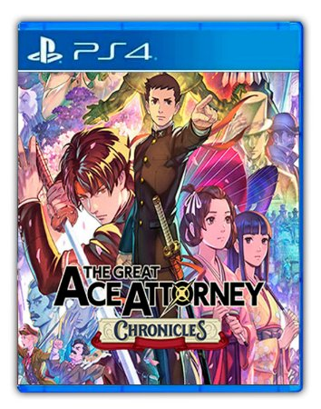 The Great Ace Attorney Chronicles Ps4 Mídia Digital
