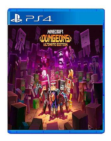 Minecraft Dungeons: Edição Ultimate Ps4 Mídia Digital