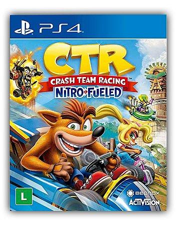 Crash Team Racing Nitro Fueled - PS4 - Midia Digital