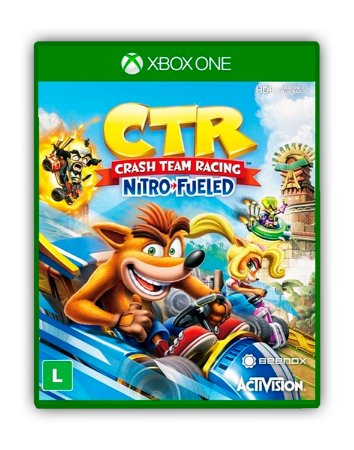 Crash Team Racing Nitro-Fueled Xbox One Mídia Digital