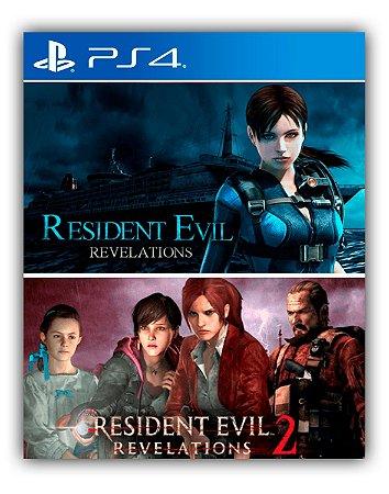 Resident Evil Revelations 1 & 2 Bundle PS4 Mídia Digital