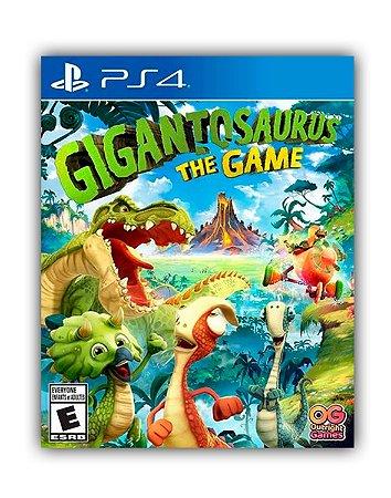Gigantosaurus o jogo PS4 Mídia Digital