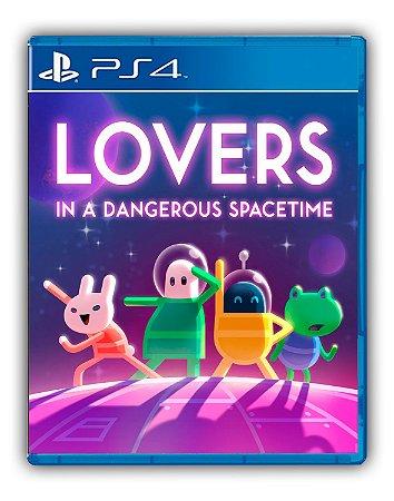 Lovers in a Dangerous Spacetime PS4 Mídia Digital