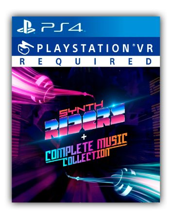Synth Riders + Complete Music Collection PS4 Mídia Digital