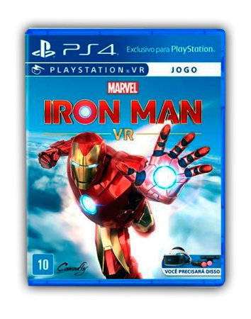 Marvel's Iron Man VR Ps4 Mídia Digital
