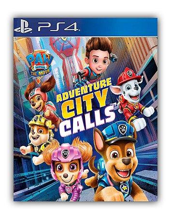 Patrulha Canina: O Filme A Cidade da Aventura está chamando PS4 Mídia Digital