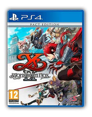 Ys IX: Monstrum Nox PS4 Mídia Digital