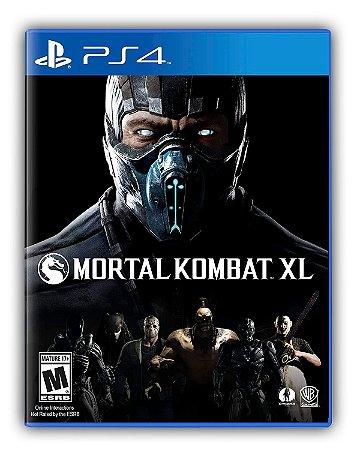 Mortal Kombat XL PS4 Mídia Digital