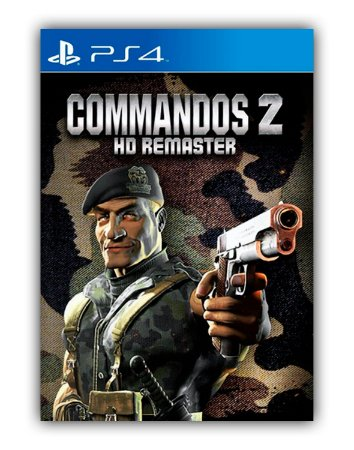 Commandos 2 - HD Remaster PS4 Mídia Digital