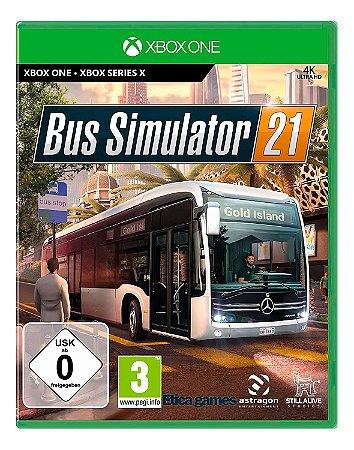 Bus Simulator 21 Xbox One Mídia Digital