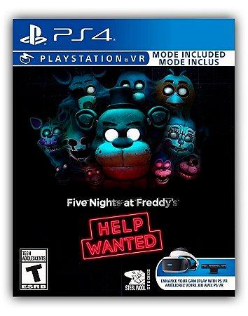 Five Nights at Freddy's: Help Wanted VR PS4 Mídia Digital