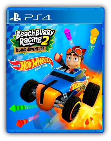 Beach Buggy Racing 2: Hot Wheels Edition PS4 Mídia Digital