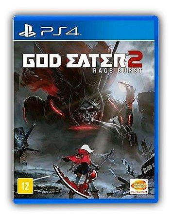 GOD EATER 2: Rage Burst PS4 Mídia Digital