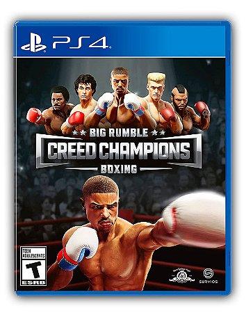 Big Rumble Boxing: Creed Champions PS4 Mídia Digital