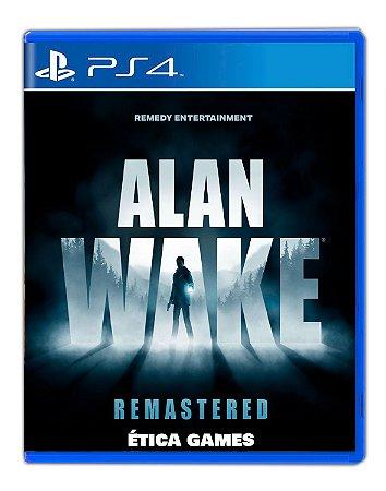 Alan Wake Remastered PS4 Mídia Digital