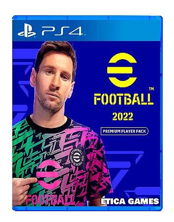 PES 22 eFootball 2022 Premium Player Pack PS4 Mídia Digital