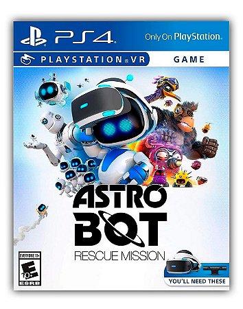ASTRO BOT Rescue Mission PS4 Mídia Digital
