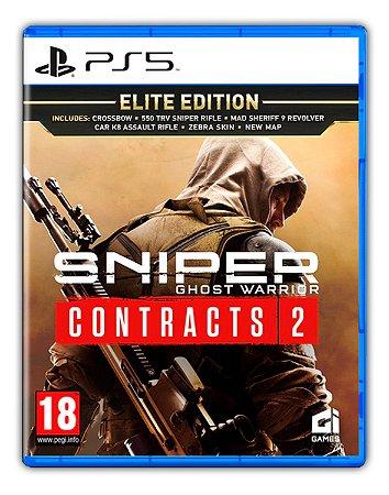 Sniper Ghost Warrior Contracts 2 Elite Edition PS5 Mídia Digital