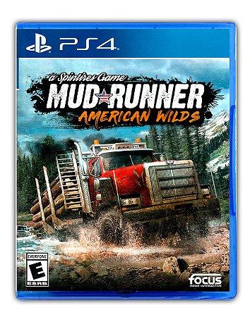 MudRunner - American Wilds Edition PS4 Mídia Digital