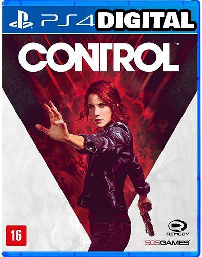 Control - PS4 - Midia Digital