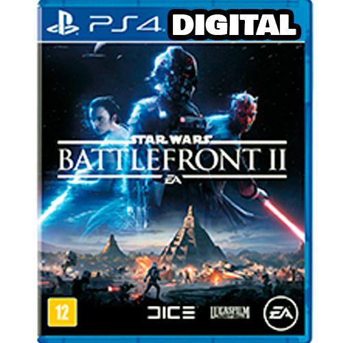 Star Wars Battlefront 2 - PS4 - Mídia Digital