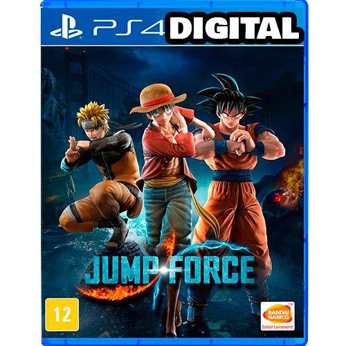 Jump Force - Ps4 - Midia Digital