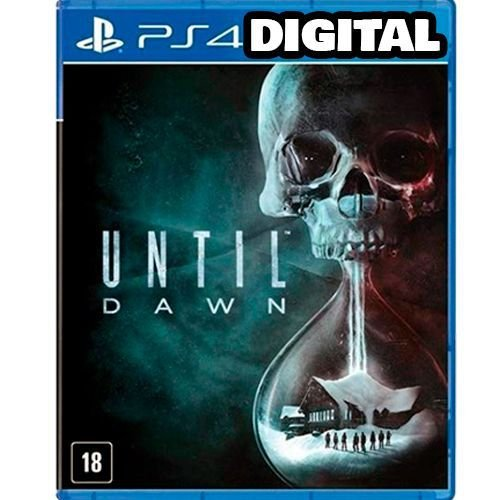 Until Dawn - Ps4 - Midia Digital