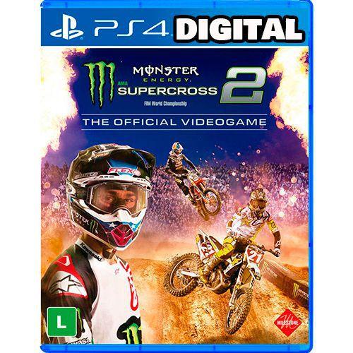Monster Energy Supercross - The Official Videogame 2 - Ps4 - Midia Digital