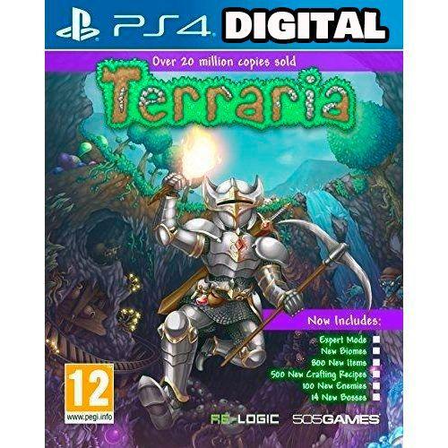 Terraria Edition - Ps4 - Midia - Digital