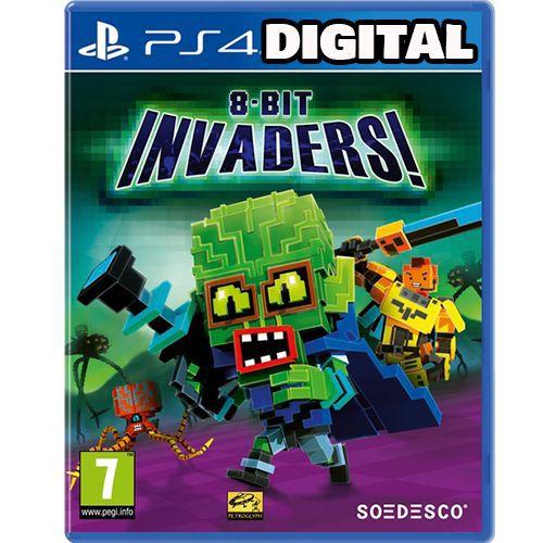 8-Bit invaders - Ps4 - Midia Digital
