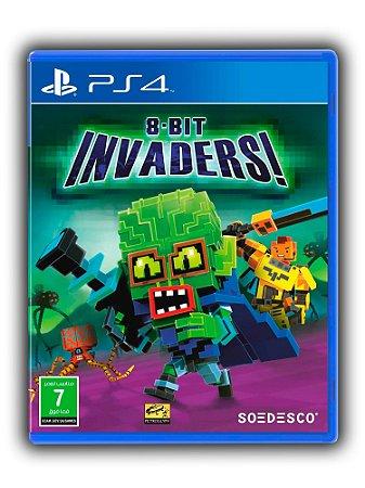 8 Bit invaders - Ps4 - Midia Digital