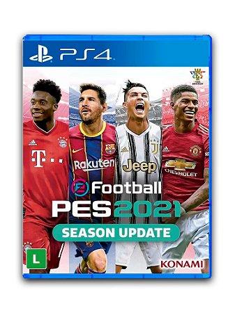 Efootball Pes 21- 2021 - PS4 - Midia Digital