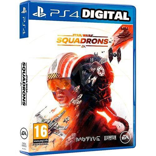 Star Wars Squadrons - PS4 - Mídia Digital