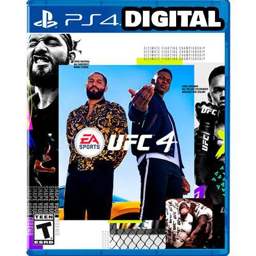 Ufc 4 - PS4 - Mídia Digital