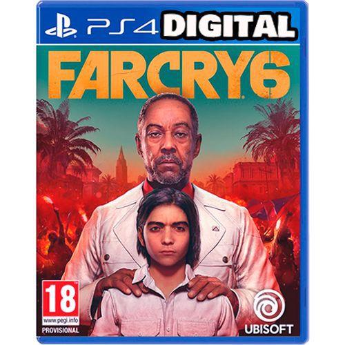 Far Cry 6 - Ps4 -PRÉ-VENDA - Midia Digital