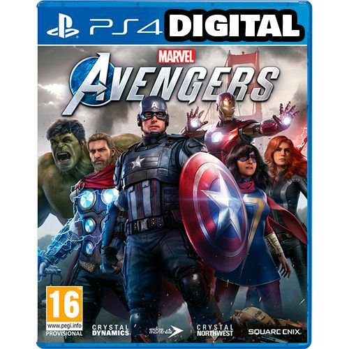 Marvel's Avengers - PS4 - Pré-Venda Vingadores - Mídia Digital