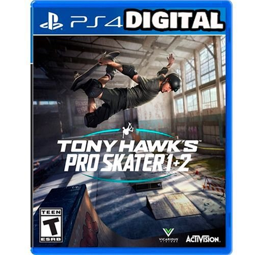 Tony Hawk's Pro Skater 1 + 2 - PRÉ-VENDA - PS4 - Mídia Digital