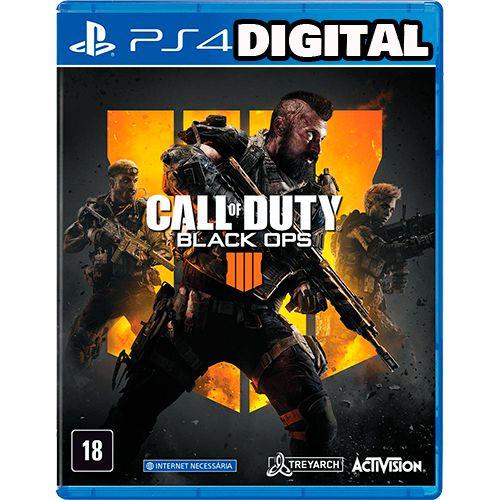 Call Of Duty: Black Ops 4 - PS4 - Midia Digital