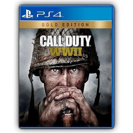 Call Of Duty ww 2 - Edição Ouro - PS4 - Mídia Digital