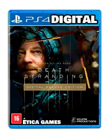 Death Stranding Deluxe Edition PS4 Mídia Digital