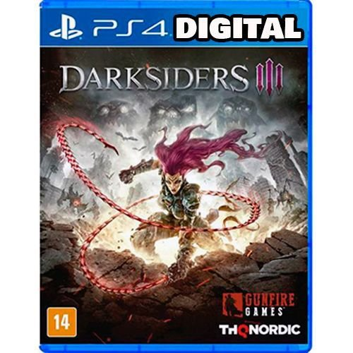 Darksiders 3 - Ps4 - Mídia Digital