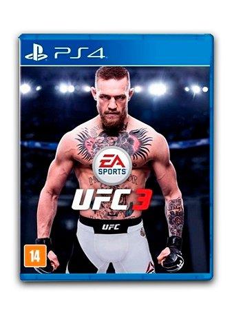 EA Sports Ufc 3 - PS4 - Midia Digital