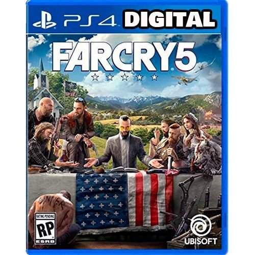 Far Cry 5 - PS4 - Midia Digital